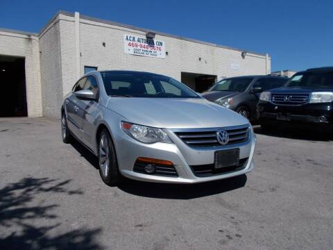 2010 Volkswagen CC for sale at ACH AutoHaus in Dallas TX