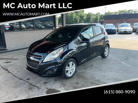 2013 Chevrolet Spark for sale at MC Auto Mart LLC in Hermitage TN