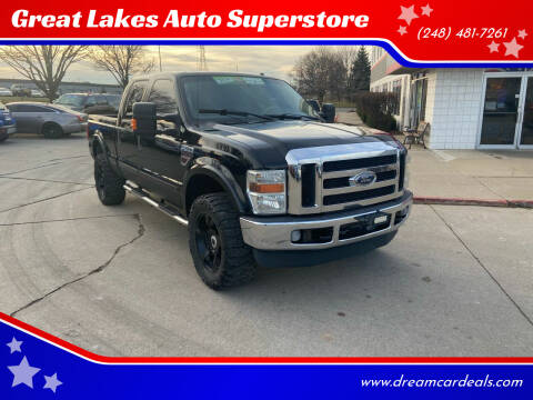 2008 Ford F-350 Super Duty for sale at Great Lakes Auto Superstore in Pontiac MI