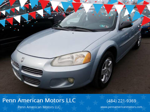 2002 Dodge Stratus for sale at Penn American Motors LLC in Allentown PA