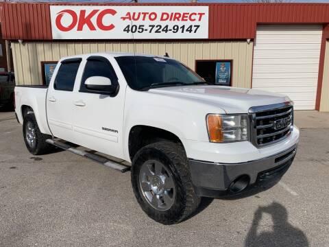 2012 GMC Sierra 1500 for sale at OKC Auto Direct in Oklahoma City OK