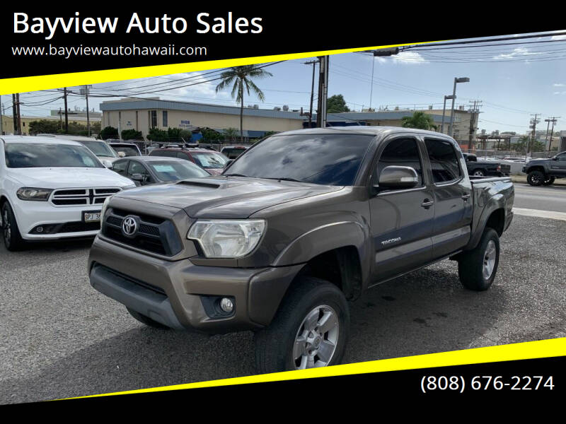 2013 Toyota Tacoma for sale at Bayview Auto Sales in Waipahu HI