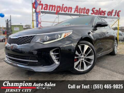 2017 Kia Optima for sale at CHAMPION AUTO SALES OF JERSEY CITY in Jersey City NJ