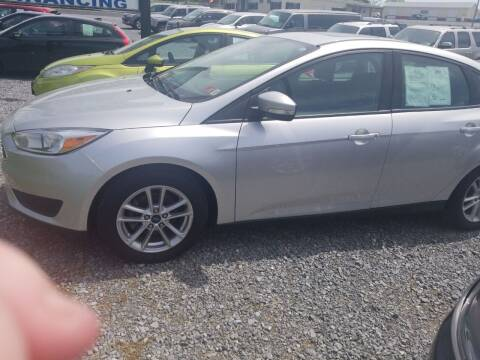 2016 Ford Focus for sale at Cascade Used Auto Sales in Martinsburg WV