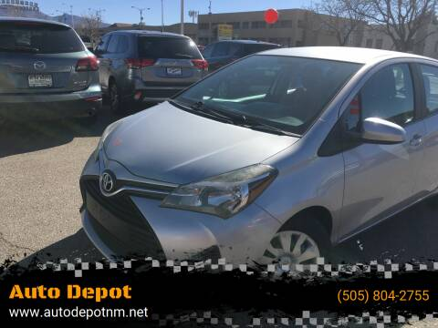 2015 Toyota Yaris for sale at Auto Depot in Albuquerque NM