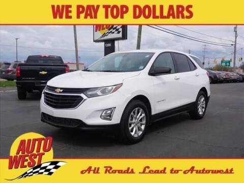 2019 Chevrolet Equinox for sale at Autowest Allegan in Allegan MI