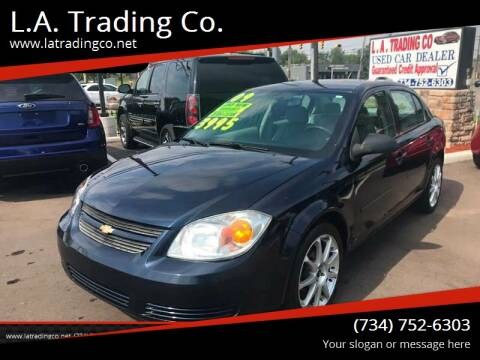 2009 Chevrolet Cobalt for sale at L.A. Trading Co. Woodhaven in Woodhaven MI