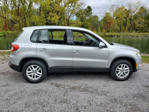 2011 Volkswagen Tiguan for sale at Auto Link Inc in Spencerport NY