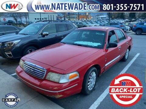 1998 Ford Crown Victoria for sale at NATE WADE SUBARU in Salt Lake City UT