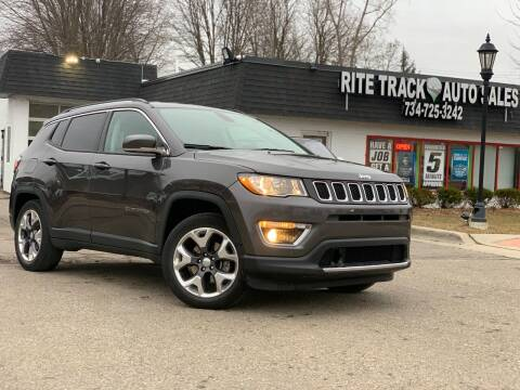 2019 Jeep Compass for sale at Rite Track Auto Sales in Canton MI