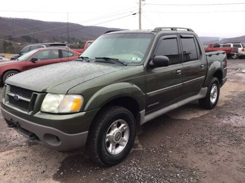 2001 Ford Explorer Sport Trac for sale at Troys Auto Sales in Dornsife PA