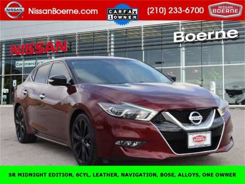 2017 Nissan Maxima for sale at Nissan of Boerne in Boerne TX