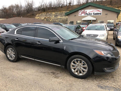 2013 Lincoln MKS for sale at Gilly's Auto Sales in Rochester MN