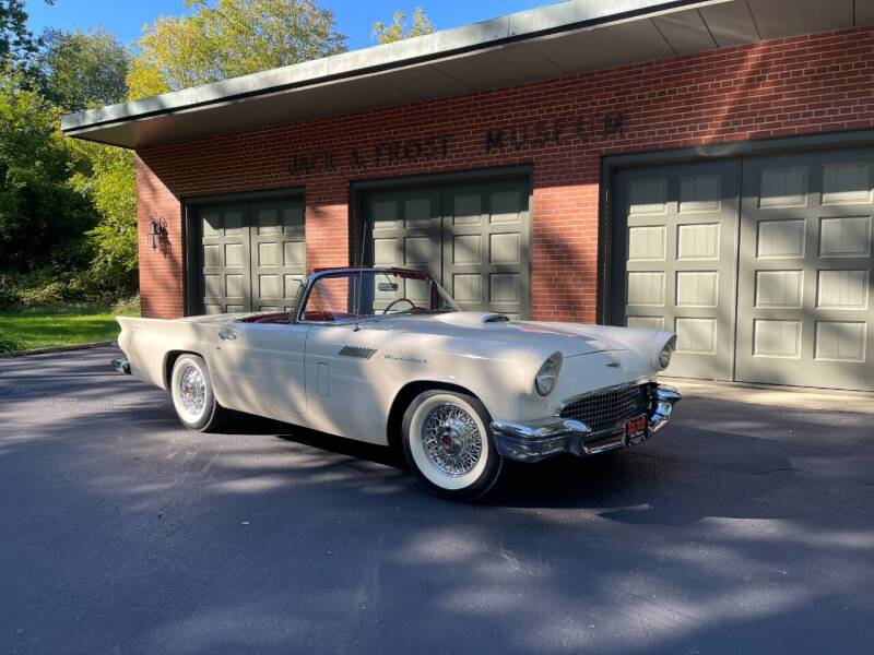 1957 Ford Thunderbird for sale at Jack Frost Auto Museum in Washington MI