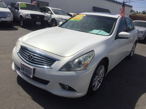 2010 Infiniti G37 Sedan for sale at Oxnard Auto Brokers in Oxnard CA