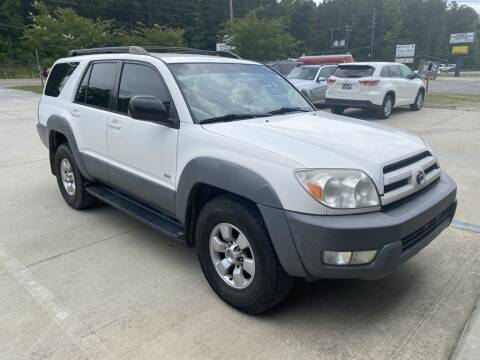 2003 Toyota 4Runner for sale at Auto Class in Alabaster AL