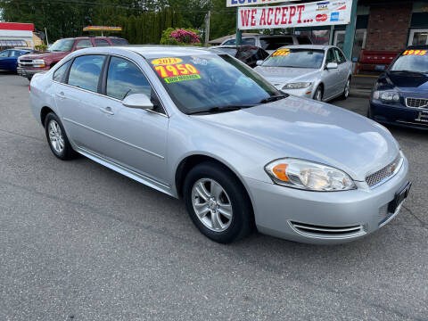 2013 Chevrolet Impala for sale at Low Auto Sales in Sedro Woolley WA