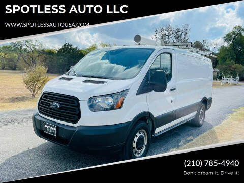 2016 Ford Transit Cargo for sale at SPOTLESS AUTO LLC in San Antonio TX