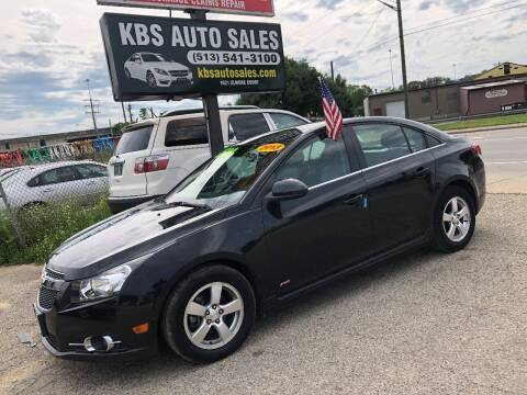 2013 Chevrolet Cruze for sale at KBS Auto Sales in Cincinnati OH