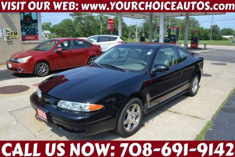 2001 Oldsmobile Alero for sale at Your Choice Autos - Crestwood in Crestwood IL