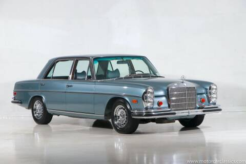1969 Mercedes-Benz 300-Class for sale at Motorcar Classics in Farmingdale NY
