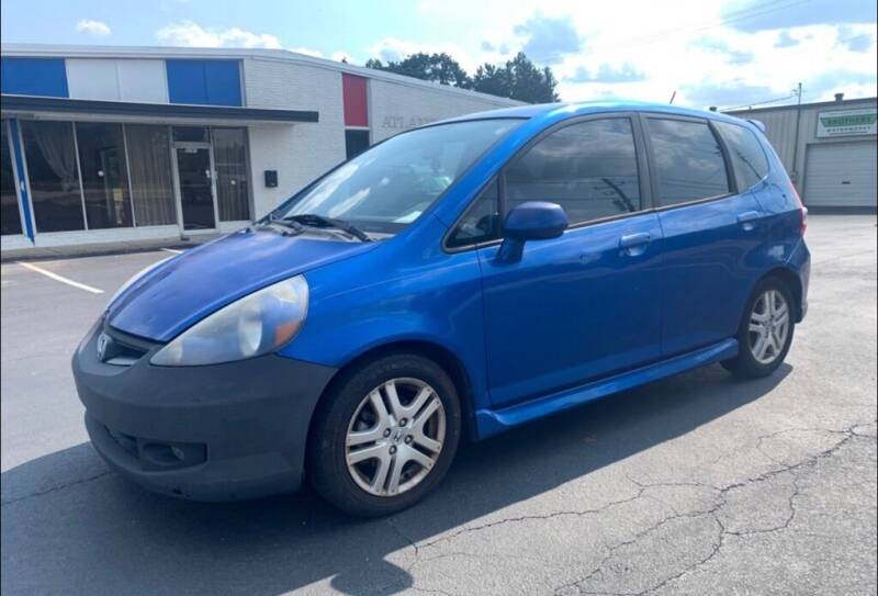 2007 Honda Fit for sale at Cobalt Cars in Atlanta GA
