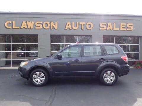 2010 Subaru Forester for sale at Clawson Auto Sales in Clawson MI