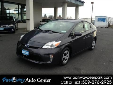 2014 Toyota Prius for sale at PARKWAY AUTO CENTER AND RV in Deer Park WA