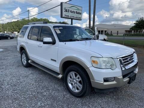 2007 Ford Explorer for sale at J & D Auto Sales in Dalton GA