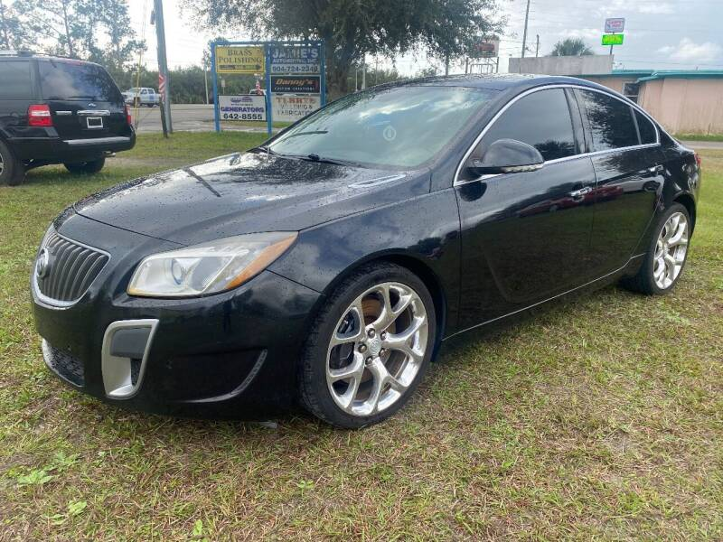 2012 Buick Regal for sale at NETWORK TRANSPORTATION INC in Jacksonville FL