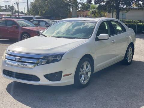 2012 Ford Fusion for sale at BC Motors in West Palm Beach FL