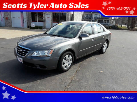 2009 Hyundai Sonata for sale at Scotts Tyler Auto Sales in Wilmington IL
