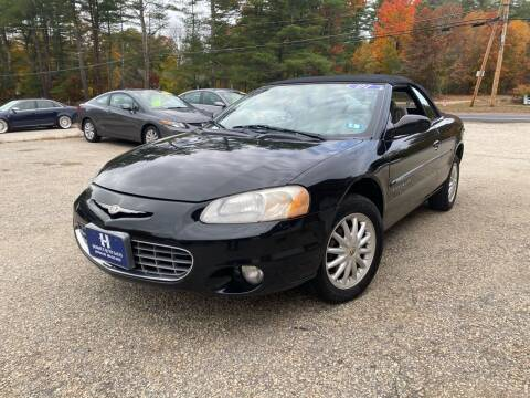 2001 Chrysler Sebring for sale at Hornes Auto Sales LLC in Epping NH