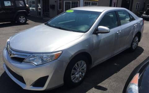 2012 Toyota Camry for sale at Dijie Auto Sale and Service Co. in Johnston RI