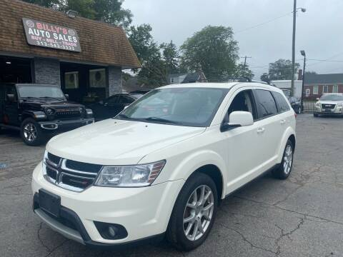 2014 Dodge Journey for sale at Billy Auto Sales in Redford MI