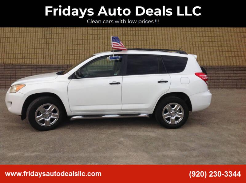 2009 Toyota RAV4 for sale at Fridays Auto Deals LLC in Oshkosh WI