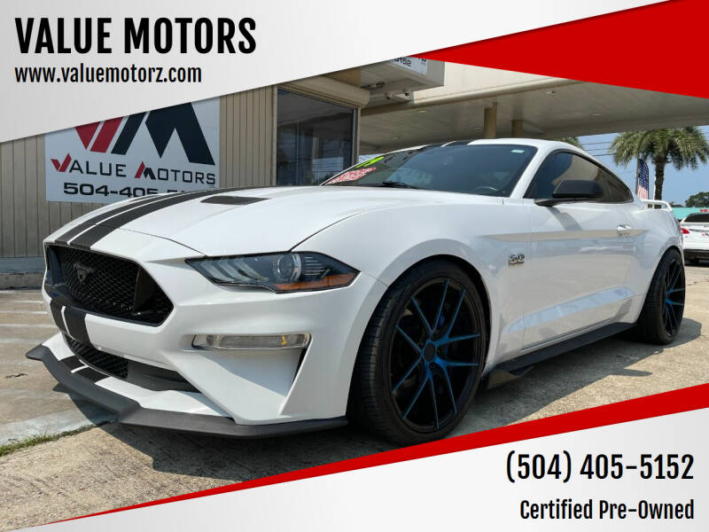 2019 Ford Mustang for sale at VALUE MOTORS in Kenner LA