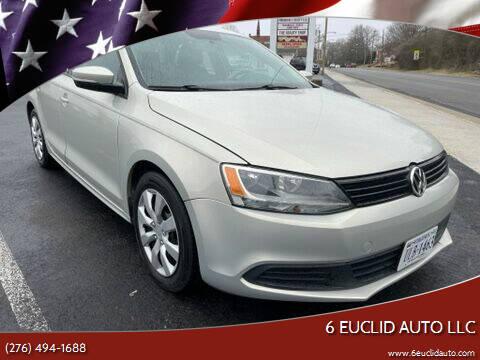 2012 Volkswagen Jetta for sale at 6 Euclid Auto LLC in Bristol VA