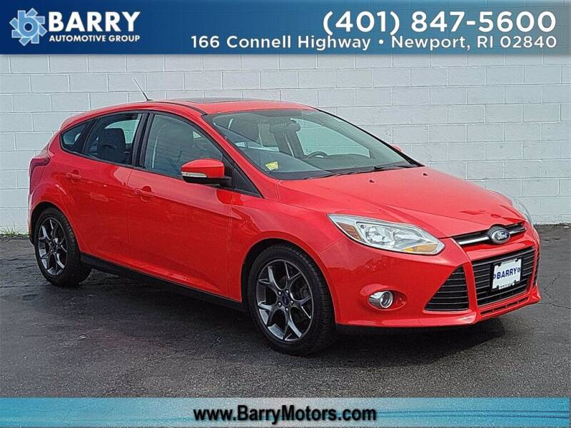 2014 Ford Focus for sale at BARRYS Auto Group Inc in Newport RI