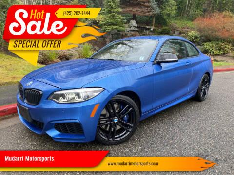 2020 BMW 2 Series for sale at Mudarri Motorsports in Kirkland WA