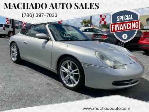 1999 Porsche 911 for sale at MACHADO AUTO SALES in Miami FL