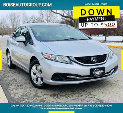 2015 Honda Civic for sale at Boise Auto Group in Boise ID