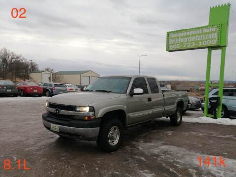 2002 Chevrolet Silverado 2500HD for sale at Independent Auto in Belle Fourche SD