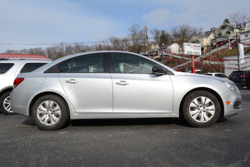 2016 Chevrolet Cruze Limited for sale at Car Xpress Auto Sales in Pittsburgh PA