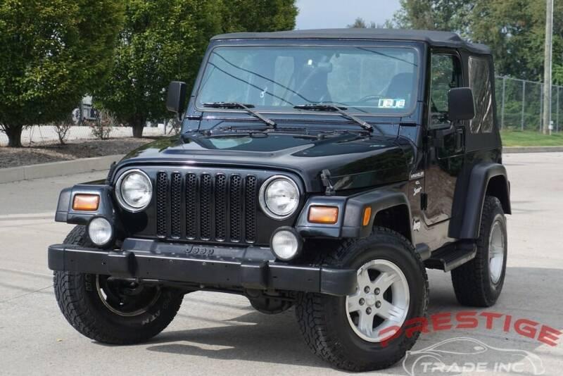 1999 Jeep Wrangler for sale at Prestige Trade Inc in Philadelphia PA
