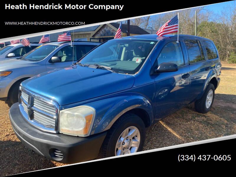 2004 Dodge Durango for sale at Heath Hendrick Motor Company in Greenville AL