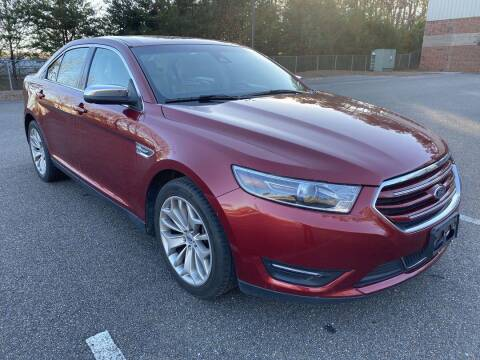 2017 Ford Taurus for sale at CU Carfinders in Norcross GA