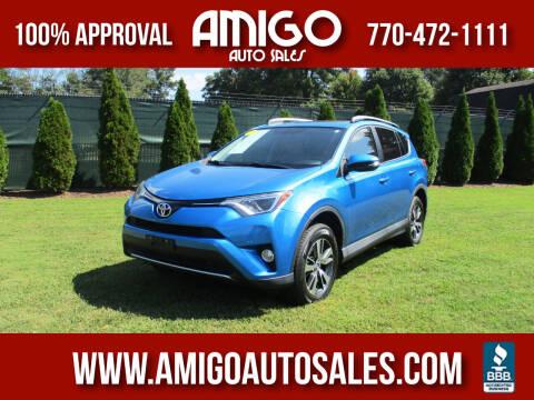 2016 Toyota RAV4 for sale at Amigo Auto Sales in Marietta GA