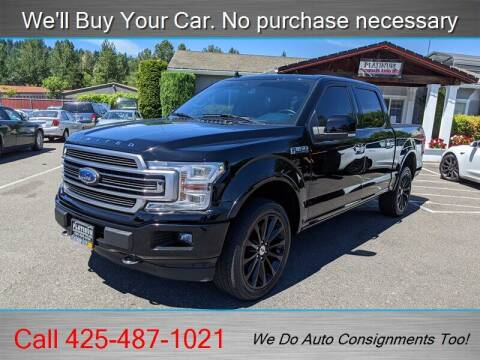2018 Ford F-150 for sale at Platinum Autos in Woodinville WA