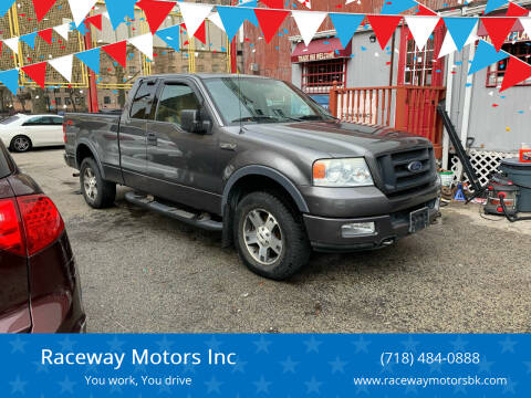 2004 Ford F-150 for sale at Raceway Motors Inc in Brooklyn NY